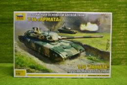 1:72 Scale Soviet T14 ARMATA TANK Zvezda 5056
