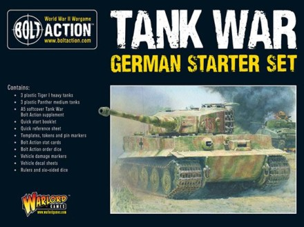 German TANK WAR Starter Army Bolt Action Warlord Games 28mm SD
