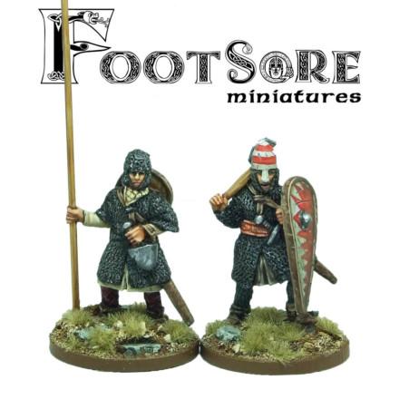 Normans Warlord and Bannerman Footsore Miniatures SAGA NOR006