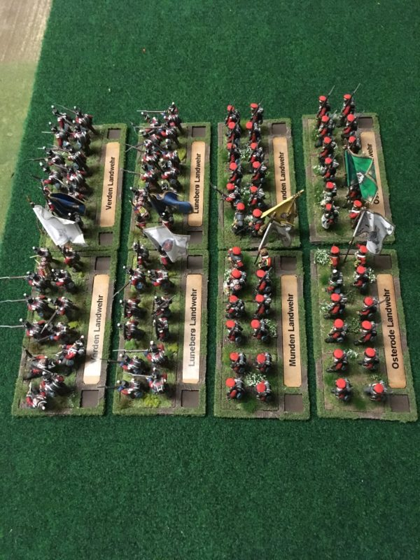 Landwehr battalions labelled ready for action