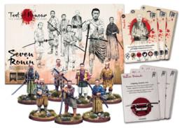 SEVEN RONIN Test of Honour metal Boxed Set from War Banner WBTHOH001