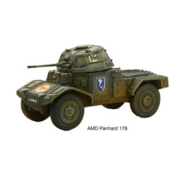 AMD PANHARD 178 Bolt Action Warlord Games 28mm