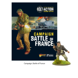 Bolt Action BATTLE OF FRANCE CAMPAIGN Rules Supplement Warlord Games