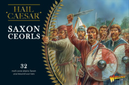SAXON CEORLS Warlord Games – Hail Caesar 28mm
