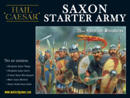 SAXON STARTER ARMY Warlord Games – Hail Caesar 28mm