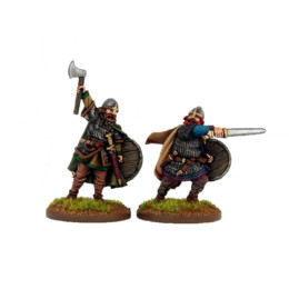 Morcar and Edwin, Saxon Earls Footsore Miniatures SAGA 03LSX004