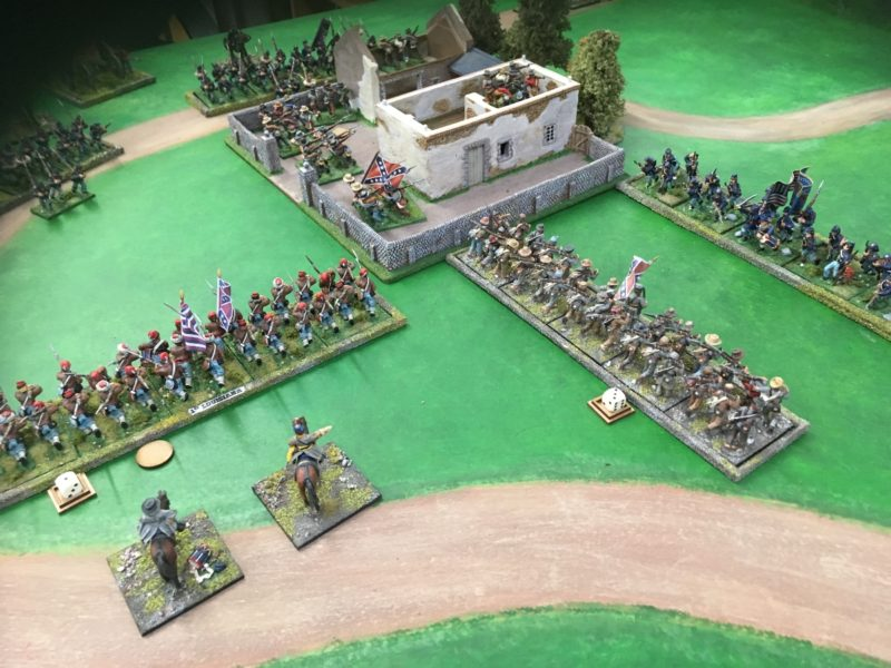 Shaken on the flank - those bots wont hold for much longer!