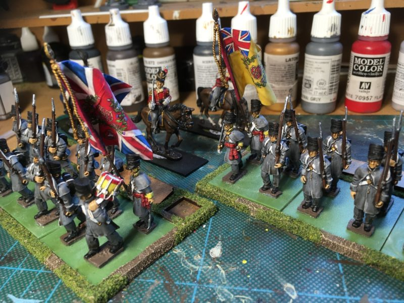The flag is now the right way up! Just the permanent basing to do.