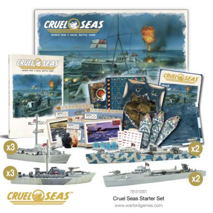 CRUEL SEAS STARTER SET Warlord Games