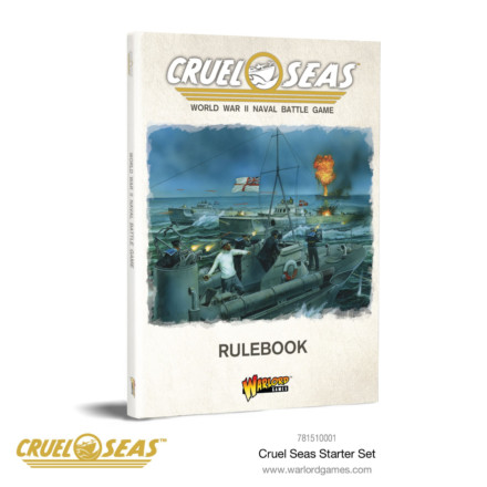 CRUEL SEAS RULE BOOK Warlord Games