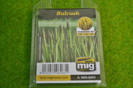 AMMO MIG Laser cut plants BULL RUSHES 8463
