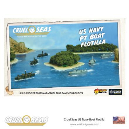 CRUEL SEAS US NAVY PT BOAT FLOTILLA Warlord Games