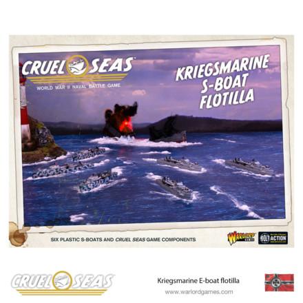 CRUEL SEAS KRIEGSMARINE E-BOAT FLOTILLA Warlord Games