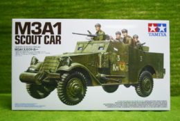 Tamiya M3A1 SCOUT CAR 1/35 Scale Kit 35363