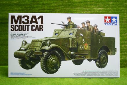 Tamiya M3A1 SCOUT CAR 1/35 Scale Kit 35363