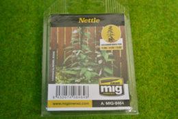 MIG Laser cut plants NETTLES 8464