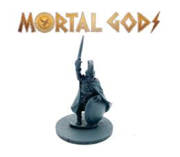Greek Armoured Leader – Mortal Gods 28mm LE001