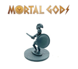 Greek Unarmoured Leader with Sword – Mortal Gods 28mm LE003