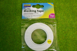 FLEXIBLE MASKING TAPE 2mm wide x 18m long pack Expo 44531