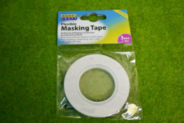 FLEXIBLE MASKING TAPE 3mm wide x 18m long pack Expo 44532