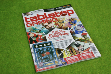 TABLETOP GAMING MAGAZINE Issue 25 DECEMBER 2018