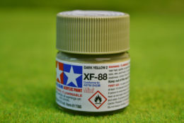 Tamiya Color DARK YELLOW II Acrylic Mini Paint XF88 10mls