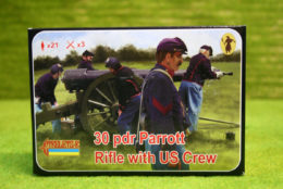 30Pdr Parrott Rifle with US Crew 1/72 Scale Strelet 182