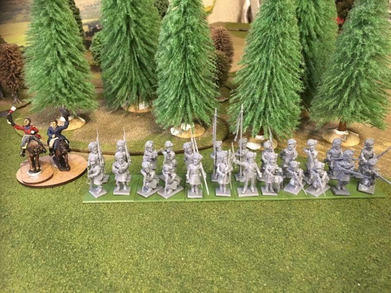 Next Battalion of Highlanders assembled