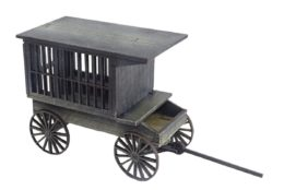 Old West / Tumbleweed 'Jail' Wagon 28mm scale D070 Sarissa Precision