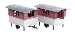 Eccles Caravan Set-28mm G101 Laser Cut MDF 28mm