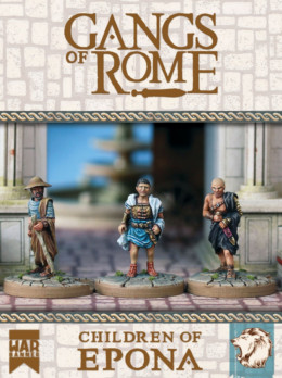 Children Of Epona – Gangs Of Rome 28mm WBGORCOE