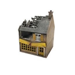 20 mm  MDF WWII model building Farmhouse