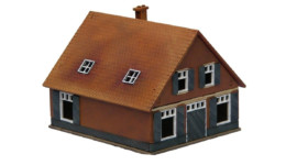 Dutch Village Rural House 15mm MDF Building Sarissa Precision N572