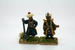 Trent Miniatures Janissary Command pack 1 OTT01