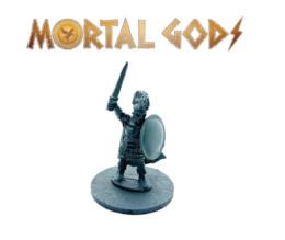 Greek Armoured Hero – Mortal Gods 28mm LE005