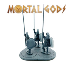 Armoured Hoplites with Crested Helms 1- Mortal Gods 28mm LE100