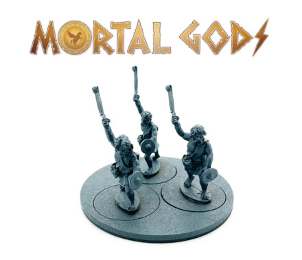 Slingers Wearing Tunics Mortal Gods 28mm LE113