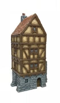 Merchant House -Battle Scale Buildings 10mm – 15mm scale 10B026