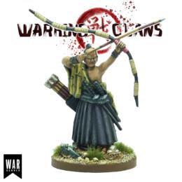 Takamoto, Kyūjutsu sensei Warring Clans from War Banner SAM018