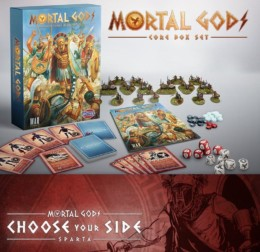-PRE ORDER! Mortal Gods – Spartan Lochos Bundle 28mm MGCBSD