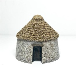 Small Thatched Hut – Battle Scale Buildings 10mm – 15mm scale 10B029