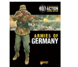 Armies of Germany 2nd Edition Bolt Action Warlord Games 28mm