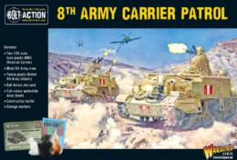 8th Army Carrier Patrol Bolt Action Warlord Games 28mm