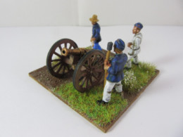 Victorious Miniatures 'BETSY' Gun and Crew BOXCA08c