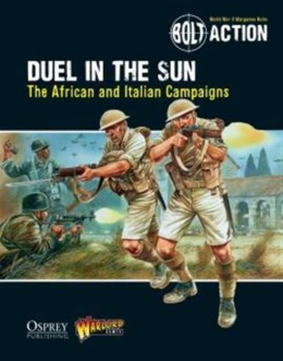 Bolt Action DUEL IN THE SUN BOOK Warlord Games