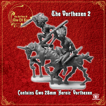 Red Book of the Elf King The VORTHEXEN pack 2 Lucid Eye 28mm