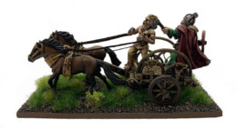Dark Ages Pict/Scots Chieftain in War Chariot Footsore Miniatures SAGA 03PSCCHAR1