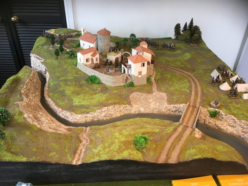 The Village of Foz d'Arouce - Table built and designed by Pete Harris
