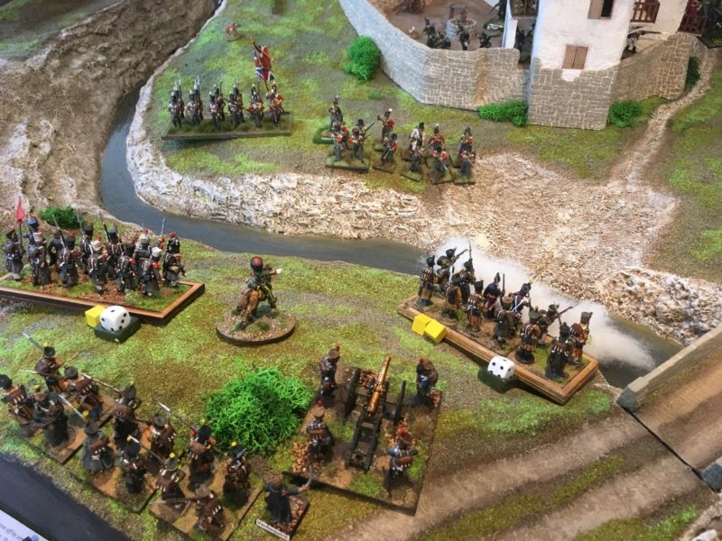 French in new defensive position