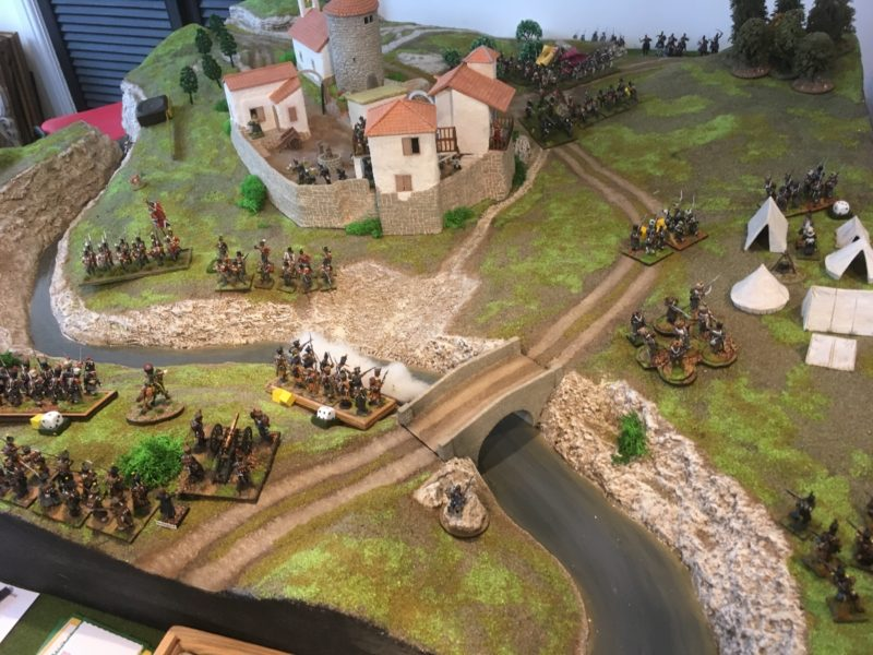 The British hold the field!